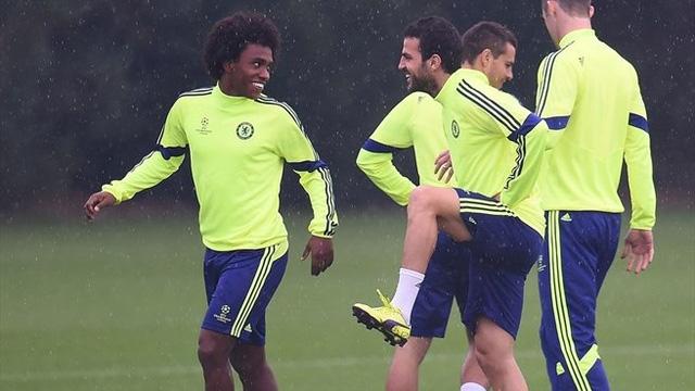 Ở Premỉer League, Chelsea đang có phong độ cực cao vì thế đoàn quân áo xanh thành London đang hướng tới chiến thắng đầu tiên tại Champions League.
