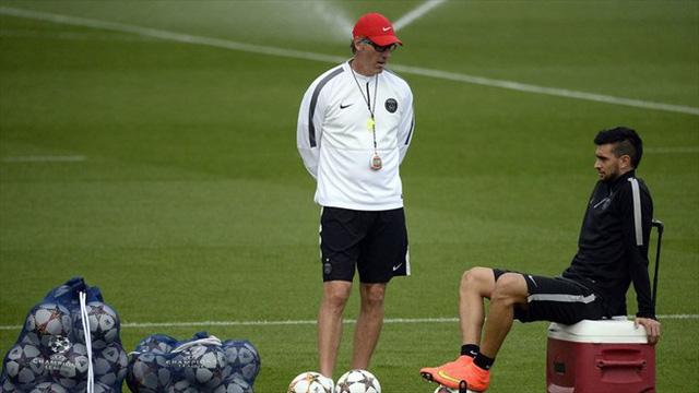 Đối thủ của Barcelona - PSG sẽ không có sự phục vụ của Ibrahimovic vì thế, gánh nặng sẽ được đặt lên vai những Javier Pastore...