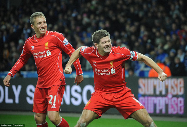 Liverpool cũng được hưởng niềm vui chiến thắng