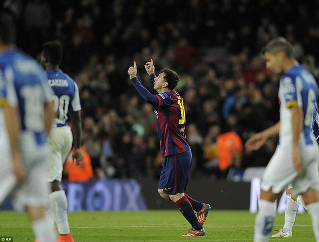 Lionel Messi đã có hat-trick thứ 29 trong sự nghiệp