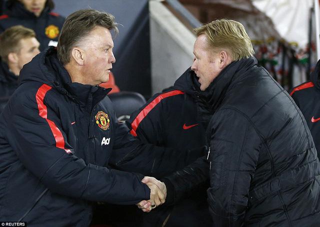 Trận chiến giữa Southampton và Man Utd tại St Mary sẽ là cuộc chiến quyết định ngôi vị thứ 3 trên BXH Premier League sau vòng 15.