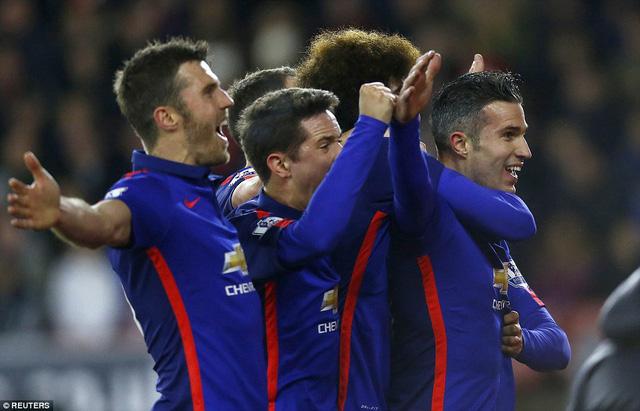 Kết quả chung cuộc, Man Utd có được chiến thắng 2-1 dù là đội chơi kém thuyết phục hơn đối thủ.