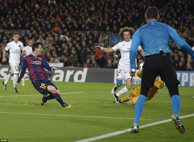 Messi có bàn thắng thứ 75 tại Champions League