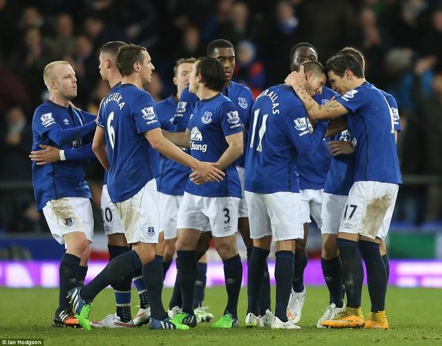 Everton có chiến thắng sau 4 trận chỉ biết hòa và thua