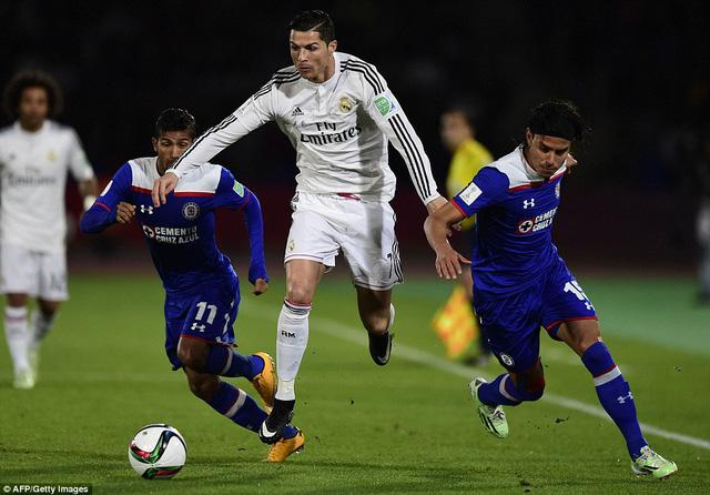 Không ghi bàn, Cris Ronaldo vẫn góp công lớn với 2 đường kiến tạo thành bàn