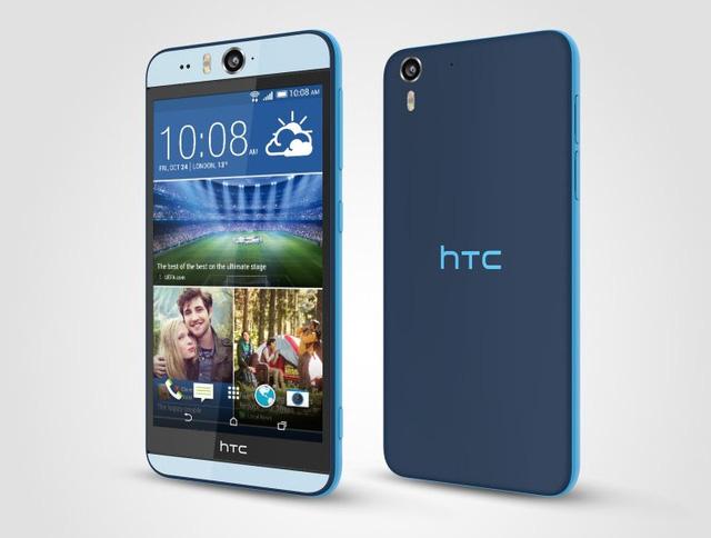 HTC Desire Eye màu xanh dương