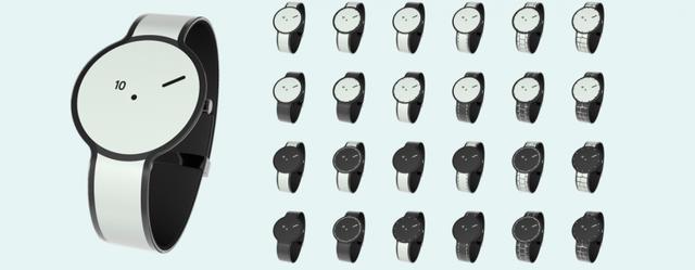 FES Watch sử dụng công nghệ e-paper trên cả mặt hiển thị và dây đeo