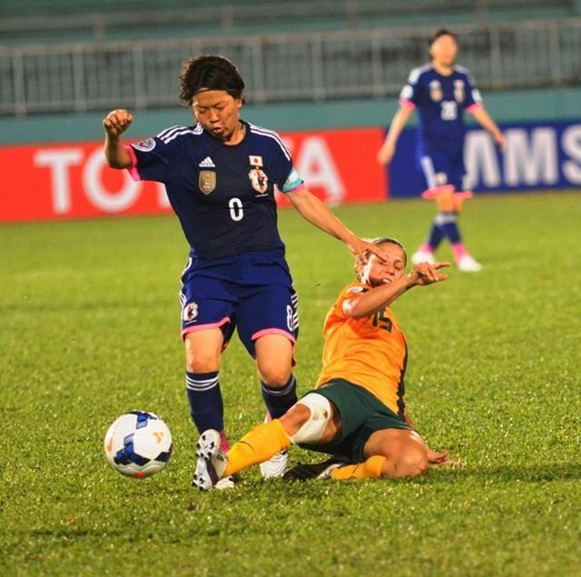Đội trưởng Aya Miyama sẽ là mũi tấn công lợi hại của Nhật Bản ở tuyến tiền vệ.