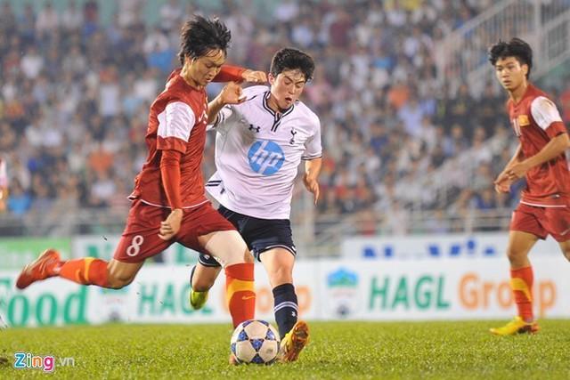 Tuấn Anh ngày một trưởng thành hơn trong màu áo U19 Việt Nam.