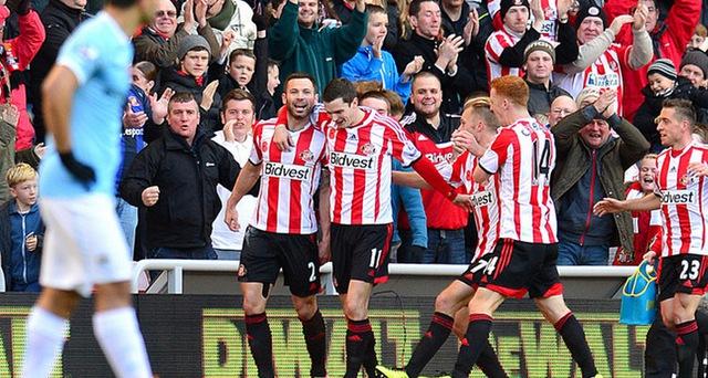 Sunderland đang là nỗi các mộng của Man City