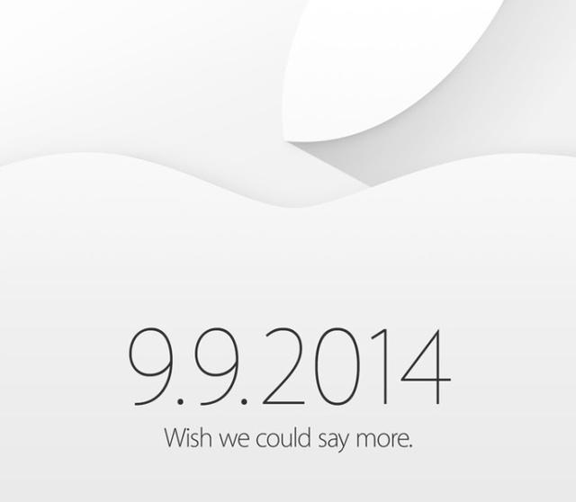Thư mời sự kiện trùng cửu của Apple