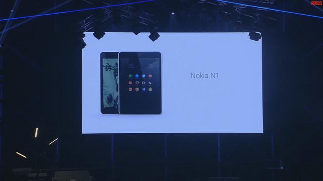 Nokia N1 ra mắt tại hội nghị Slush