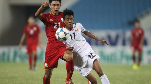 U19 Thái Lan cuối cùng cũng đã phục hận thành công U19 Myanmar. (Ảnh minh họa)