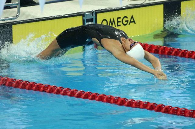 Ánh Viên sẽ thi đấu nội dung 100m ngửa nữ trong ngày hôm nay
