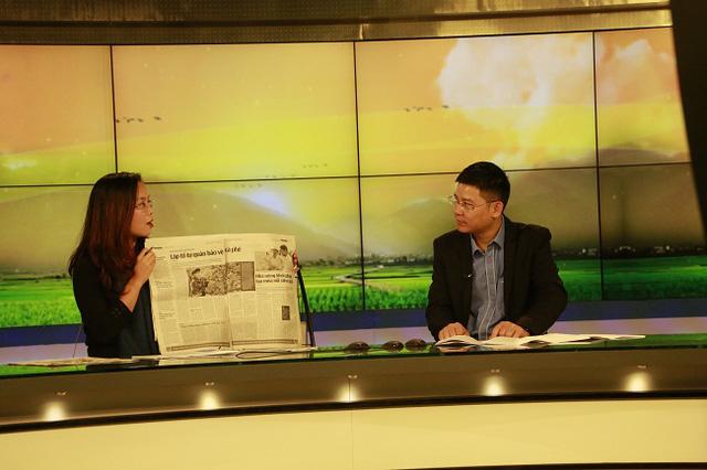 Chuyên mục Bông lúa sẽ cung cấp tới cho khán giả những thông tin mới nhất về nông dân, nông nghiệp và nông thôntrên các báo ra buổi sáng