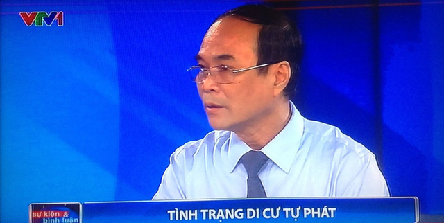 Ông Lê Hồng Nguyên, Vụ trưởng Vụ xã hội, Ban Kinh tế Trung ương.
