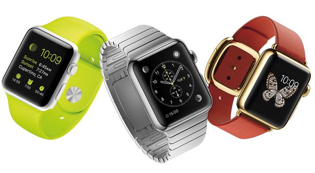 Apple Watch có 3 phiên bản