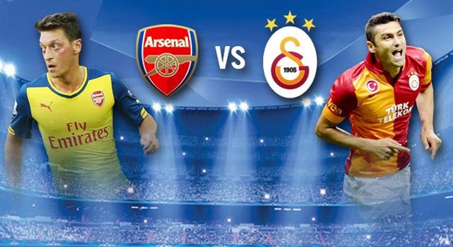 Arsenal sẽ phải đối đầu với Galatasaray