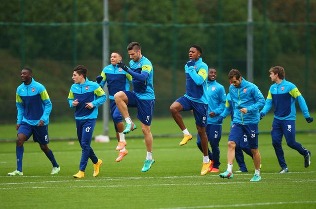 Arsenal chỉ cần một trận hòa là đủ điều kiện vào vào trong
