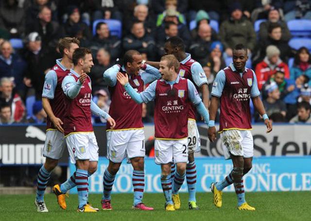 Aston Villa đang xếp thứ 2 với 10 điểm sau 4 trận