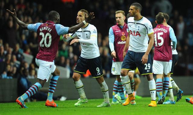 Ở trận đấu muộn nhất tại vòng 10, dù được thi đấu trên sân nhà tuy nhiên Aston Villa cũng không thể có được điểm trước Tottenham. The Villans là những người có được bàn thắng trước song Spurs đã lội ngược dòng thành công.
