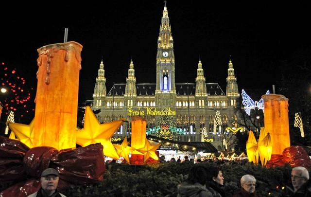 Christmas Market, Vienna (2009). (Nguồn: Getty Images)