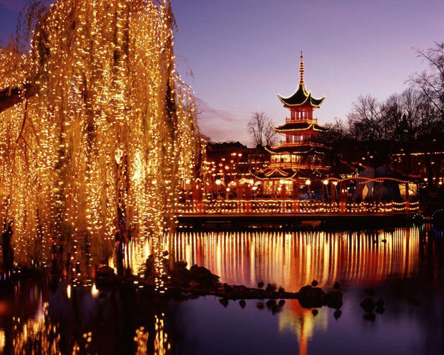 Vườn Tivoli, Copenhagen (2013). (Nguồn: Getty Images)