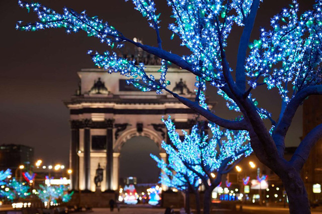 Triumphal Arch, Moscow (2014). (Nguồn: Getty Images)