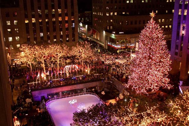 Rockefeller Center, Thành phố New York (2001). (Nguồn: Getty Images)