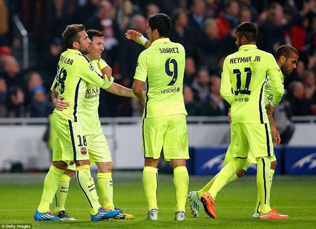 Messi cùng các đồng đội sẽ trở lại mạch chiến thắng tại La Liga?