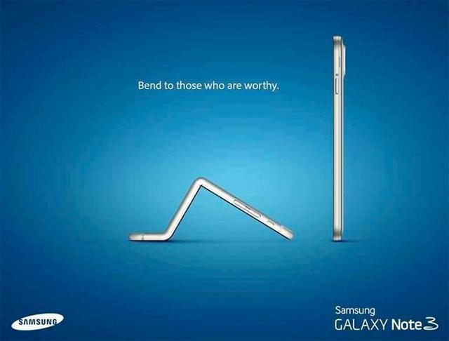 Hình đại diện của đoạn video quảng cáo cho Galaxy Note 3