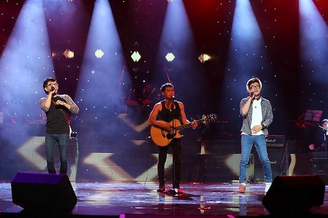 Nhóm Its Time sẽ thể hiện ca khúc do chính nhóm sáng tác - ca khúc Chỉ cần tình yêu.