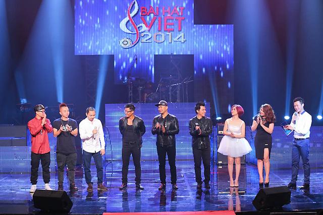 Hà Lê, Phúc Bồ, Nguyễn Hải Phong, nhóm MTV, Hòa Minzy, Phù Vạn Nam Hương và MC Anh Tuấn - những ca sĩ đã thực hiện minishow cùng Nguyễn Hải Phong.