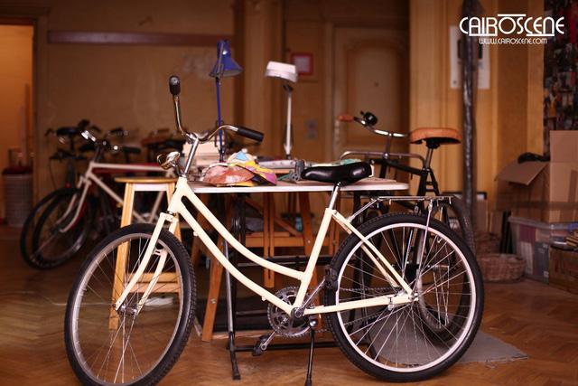 Một số mẫu xe đạp của cửa hàng anh Abdullah.