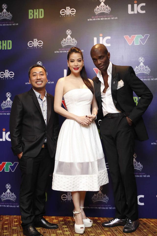 Bộ 3 giám khảo của Hoa khôi Áo dài Việt Nam 2014