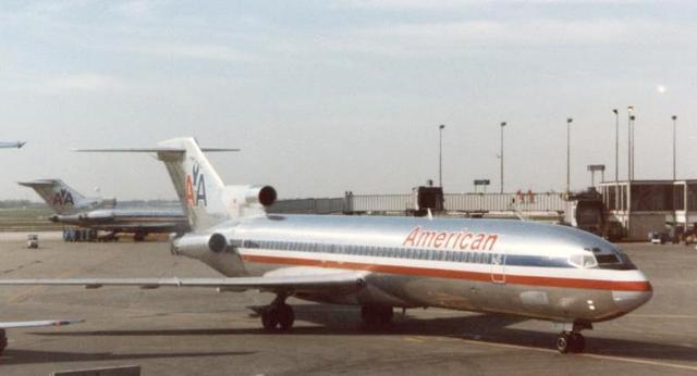 Hình ảnh của chiếc Boeing 727 trước khi mất tích