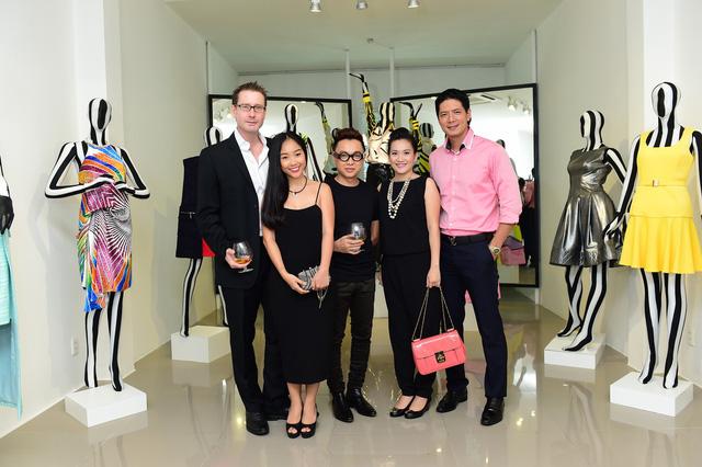 DV Bình Minh, Cát Tường, ca sĩ Đoan Trang tới dự sự kiện