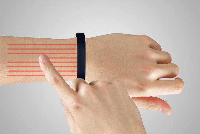 Cảm biến tiệm cận tầm xa sẽ nhận diện các thao tác chạm và vuốt của người dùng