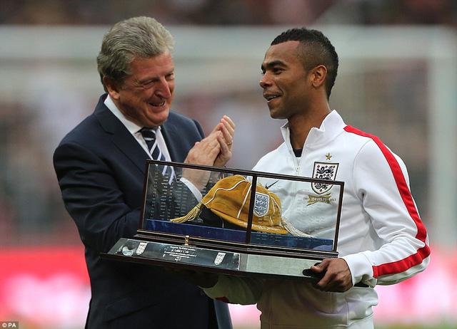 Hậu vệ Ashley Cole hồi tháng 5/2013 tại Wembley.