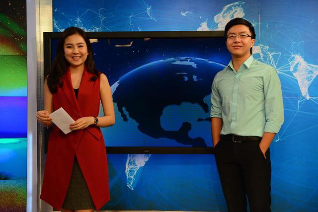 MC Mai Ngọc và MC Hoàng Nam - 2 MC thời tiết với phong cách năng động và cuốn hút của Cuộc sống thường ngày