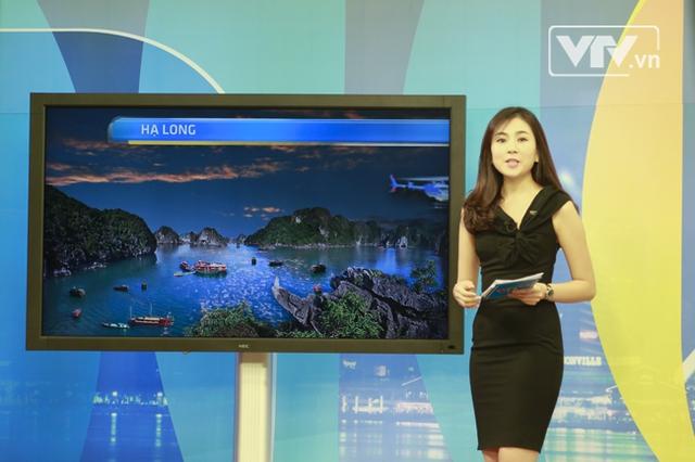Những thông tin về thời tiết được truyền tải ngắn gọn với hệ thống hình ảnh hiển thị trực quan, dễ hình dung.