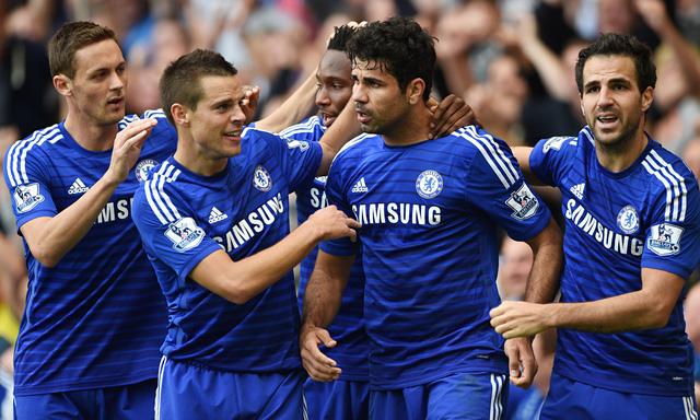 Chelsea đang hướng đến cú ăn tư trong mùa giải 2014/2015