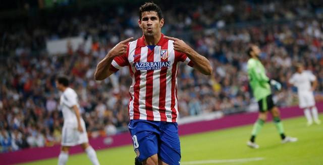 Diego Costa có mặt trong danh sách nhờ vào thành tích thi đấu tại La Liga
