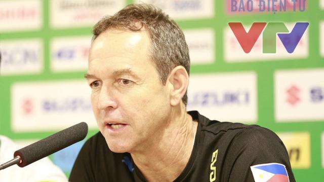 HLV Dooley cho rằng, cơ hội để Philippines lần đầu tiên vào chung kết AFF Cup là rất rõ ràng. Ảnh: Minh Nguyễn