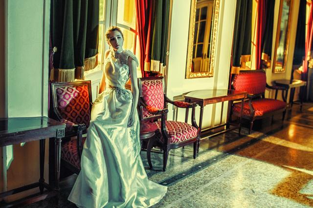 """Các thiết kế của Trương Thanh Hải sẽ xuất hiện trong chương trình thời trang nghệ thuật đặc biệt mang tên """"Chuyến tàu Tình yêu"""" do VTVcab và VTVpcd sản xuất.  """"Chuyến tàu Tình yêu"""" sẽ được phát sóng trên các kênh VTVcab trong dịp Tết Dương lịch 2015."""