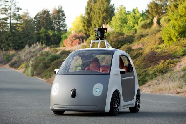 Mẫu xe tự lái đầu tiên của Google