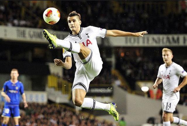 Erik Lamela đang thi đấu rất hay trong màu áo Tottenham
