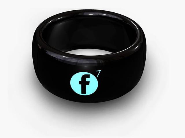 SmartRing có thể hiển thị thông báo tin nhắn, Facebook, email...