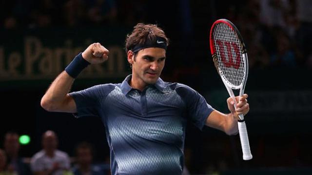 Federer sẽ xuất trận vào tối nay 29/10