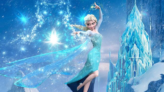 Bộ phim Frozen thu hút khán giả bởi những hình ảnh đẹp tuyệt vời